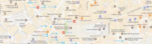 Mappa di milano