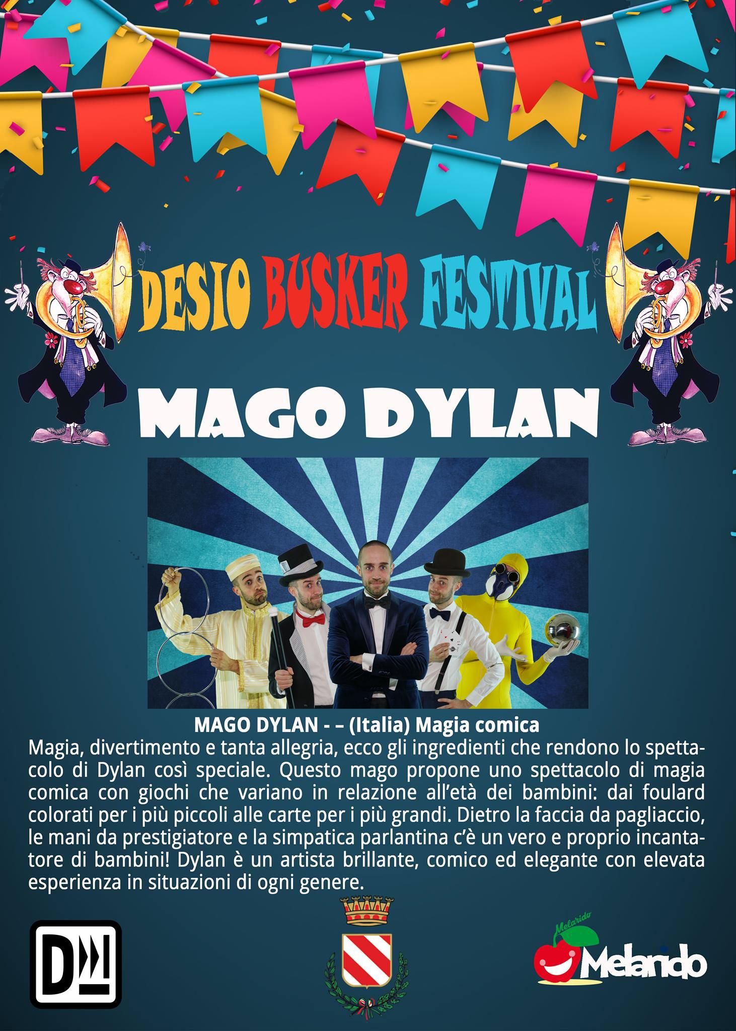 busker Festival desio locandina