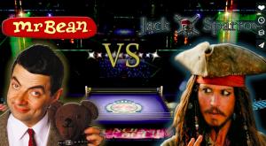 Mr Bean vs Jack Sparrow